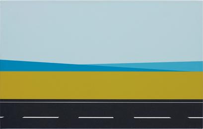 Julian Opie, 'Roadscape 61,' 2001, Phillips: New Now (December 2016)