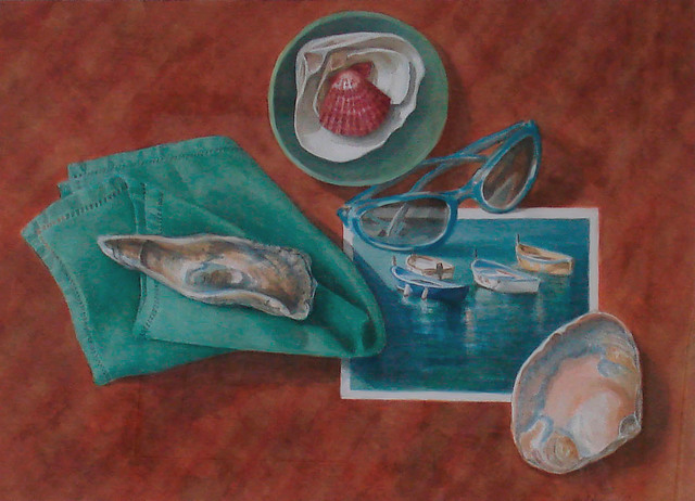 , 'Summer Collection of Mollusks & Memories,' 2010, InLiquid