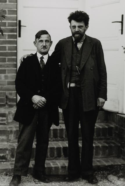 August Sander, 'Left-wing Revolutionaries [right Erich Mühsam], 1929', Galerie Julian Sander