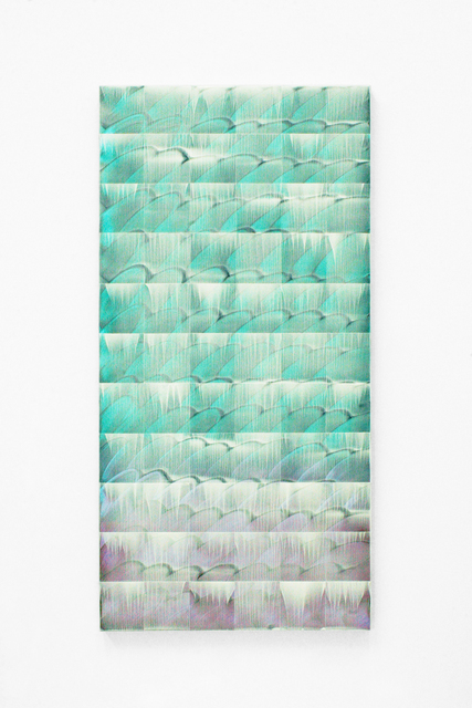 , 'Grid 2017-1-20(Ripples and Rainbow 2),' 2017, Imura Art Gallery