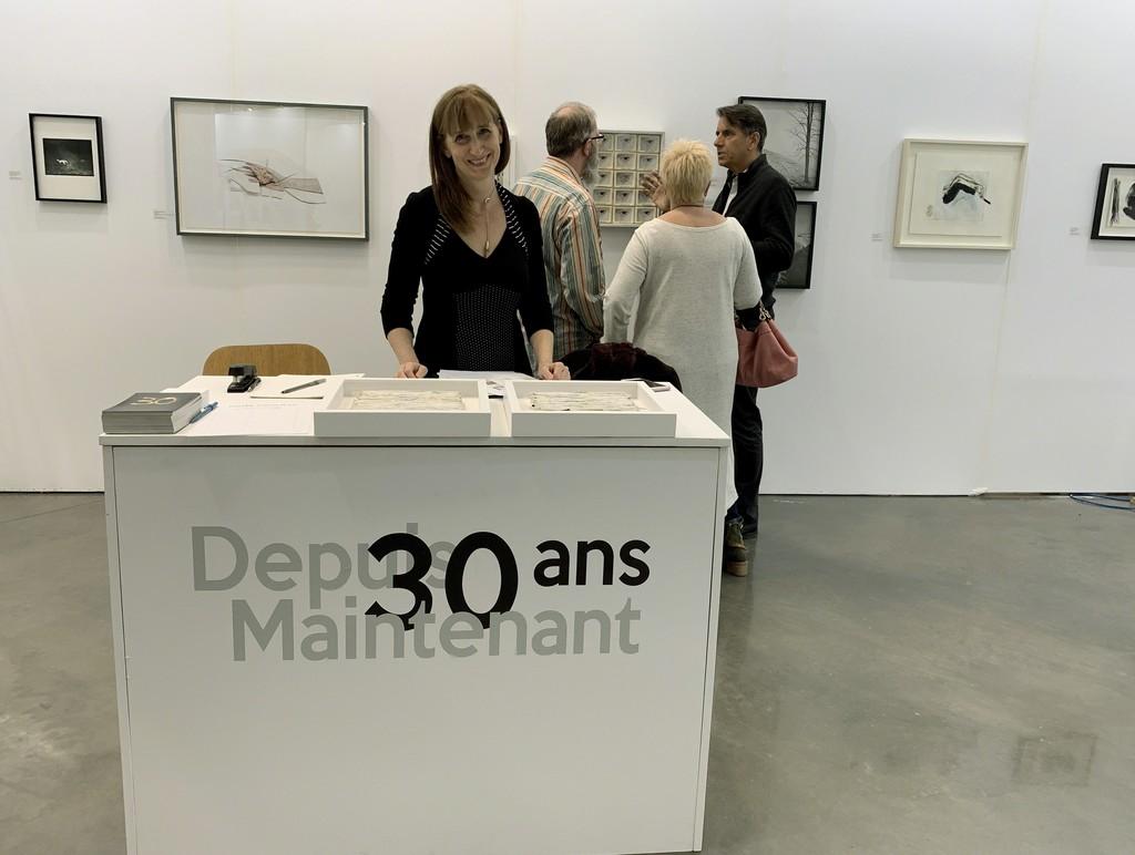 Catherine Léonard at Galerie Simon Blais booth C05, Papier19.