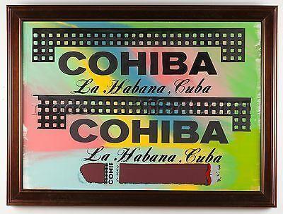 Steve Kaufman, 'Cohiba Cigar Original Oil Painting Man Lady Cave Large Signed', 1996, Modern Artifact