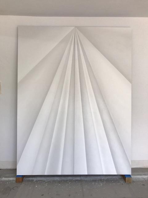 , 'Unfolded Painting,' 2017, Travesia Cuatro