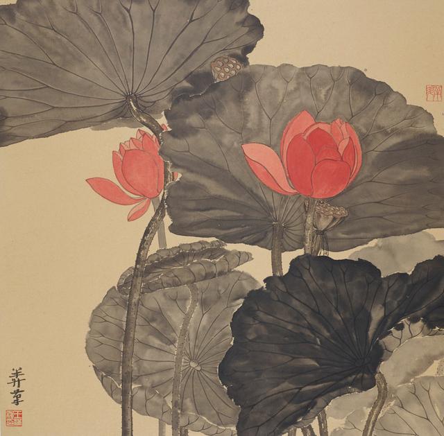 Wang Mansheng 王满晟, 'Jiangnan Lotus 江南可採蓮', 2013, Painting, Ink and Color on Paper, Rasti Chinese Art