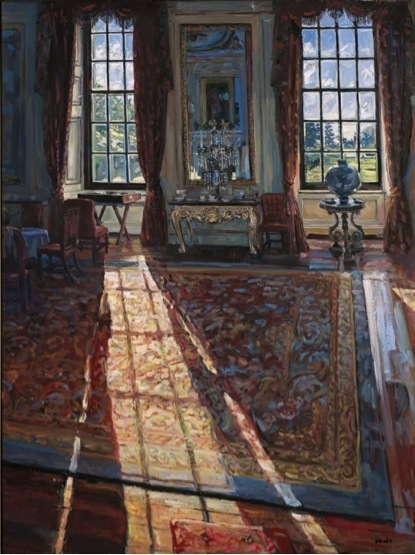 , 'Sunlight in the  Private Dining Room, Chatworth,' 2015, DELAHUNTY