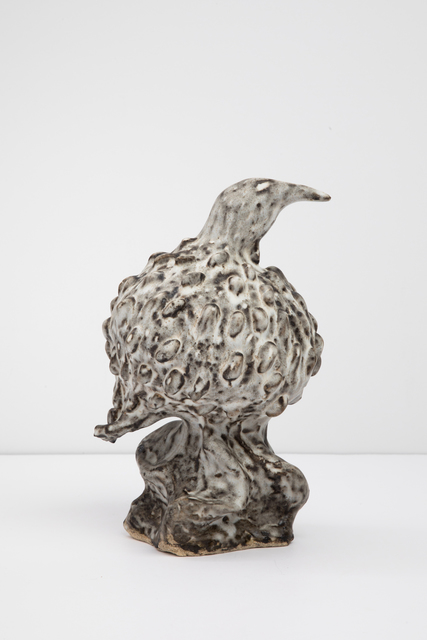 , 'Feathered Glazed Bird,' 2018, Tayloe Piggott Gallery