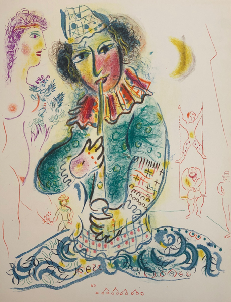 Marc Chagall, 'Le Cirque M. 527', 1967, Print, Original Lithograph on Velin d'Arches Wove Paper, Galerie d'Orsay