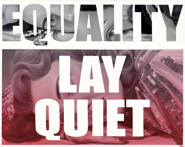 """, '""""Lay Quiet"""",' 2017, Parlor Gallery"""