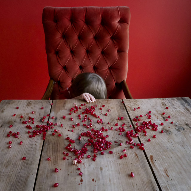 , 'Pomegranate Seeds, Scout, Rockport, Maine,' 2012, Robert Mann Gallery