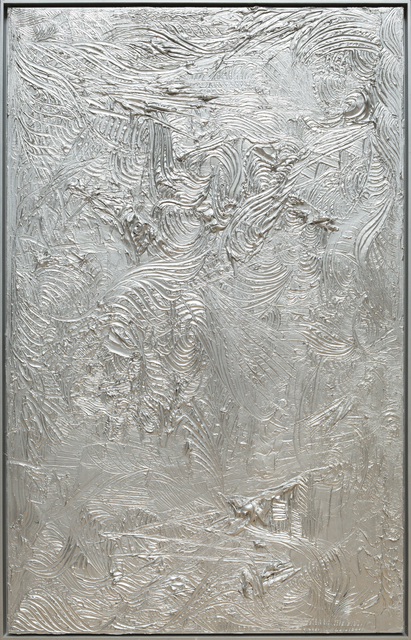 , 'Silver Painting ,' 2011, RUDOLF BUDJA GALLERY