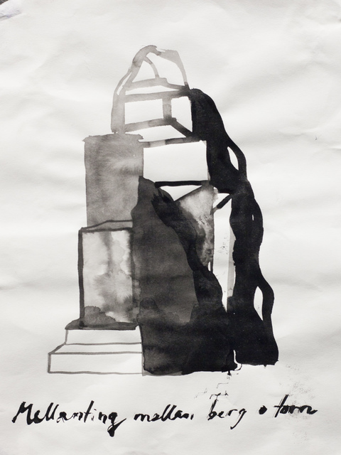 , 'Skiss för Slottet / Sketch for Slottet (The Castle),' 2016, Galleri Magnus Karlsson