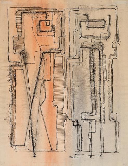 , 'Man & Woman,' 1950, Rosenberg & Co.