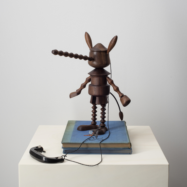 , 'Under wood (Pinocchio),' 2018, Federico Luger (FL GALLERY)