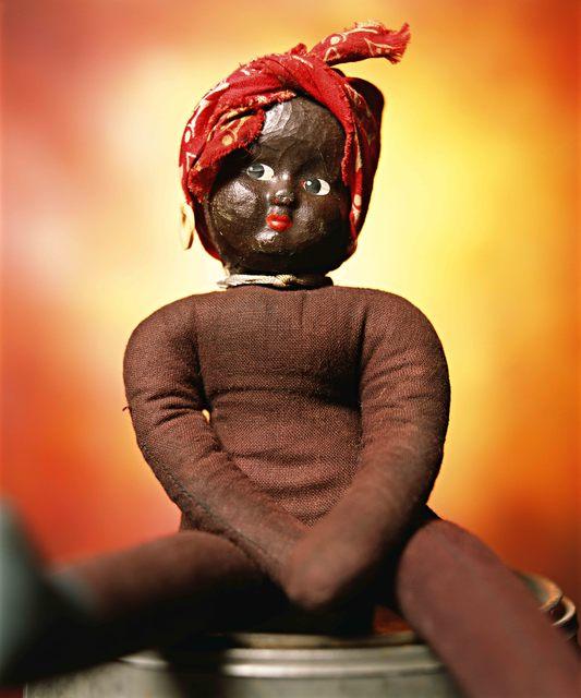 """, '""""Black Dolls - Sandy"""" Vintage Rag Doll (Infamous),' 2019, Galerie Nathalie Obadia"""