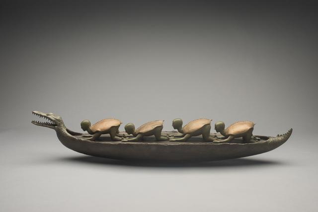 , 'Barco De Los Antepasados,' 1994, Hieronymus
