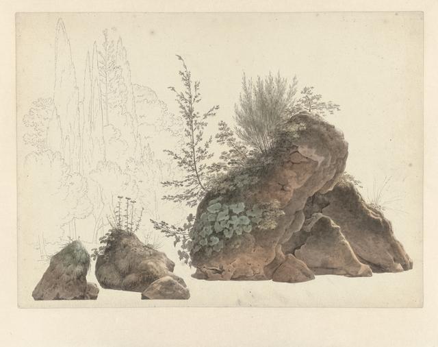 , 'Overgrown Rocks,' 1809-1812, Rijksmuseum