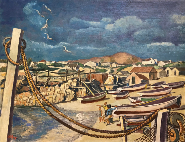 , 'Fishing Harbour Gansbaai ,' , EBONY/CURATED
