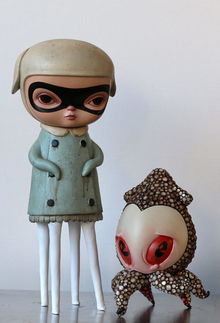, 'Lizzie and Encrusted Junior (In Collaboration with Brandt Peters),' 2015, AFA Gallery