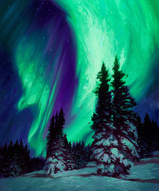 Rob Rey, 'Northern Lights', 2018, Abend Gallery