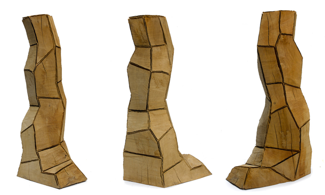 , 'Cut Corners Column,' 1997, Galerie Lelong & Co