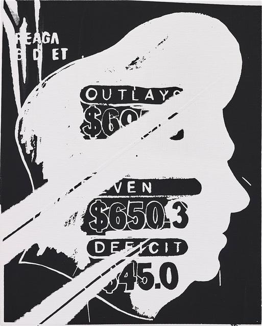 Andy Warhol, 'Reagan Budget', 1985-86, Phillips