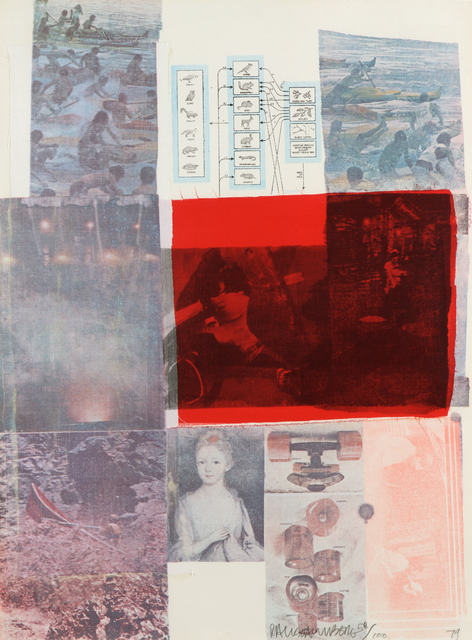 Robert Rauschenberg, 'From the Seat of Authority', 1979, Heather James Gallery Auction