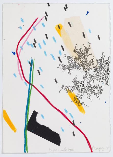 , 'Desire Worlds IX,' 2018, David Krut Projects