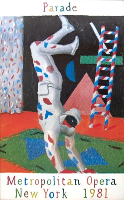 David Hockney, 'Harlequin from Parade', 1981, ArtWise