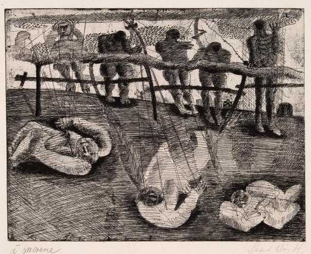 , 'I Snorene (Bridled),' 1958, Statens Museum for Kunst