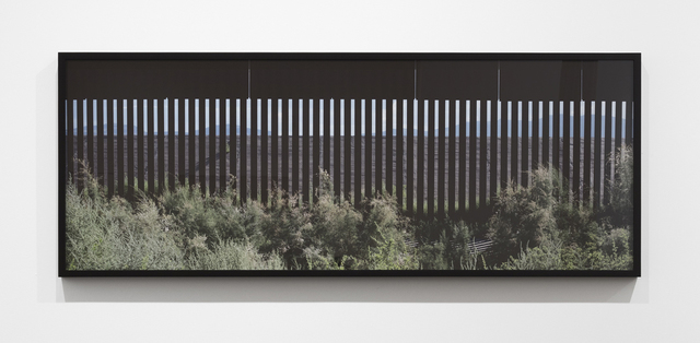 , 'At The Border, Neutral Zone (Don't Look Back) Fabens, Texas,' , Alexander and Bonin