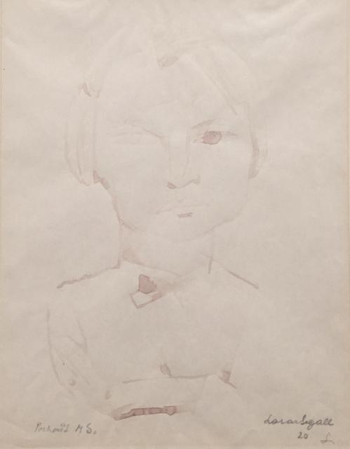 , 'Retrato de Margaret,' 1920, Galeria Raquel Arnaud