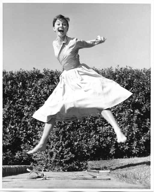 , 'Audrey Hepburn, jump serie,' 1955, °CLAIR Galerie