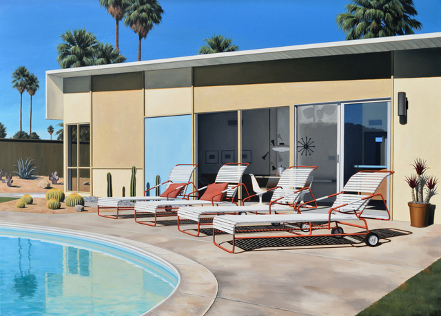 , 'Racquet Club Estates Lounging,' 2017, George Billis Gallery