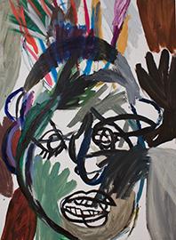 , 'Franz im Kopf IV,' 16.10.2010, Galerie Brigitte Schenk