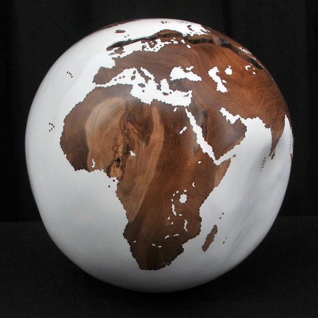 , 'White Globe,' 2016, Artima
