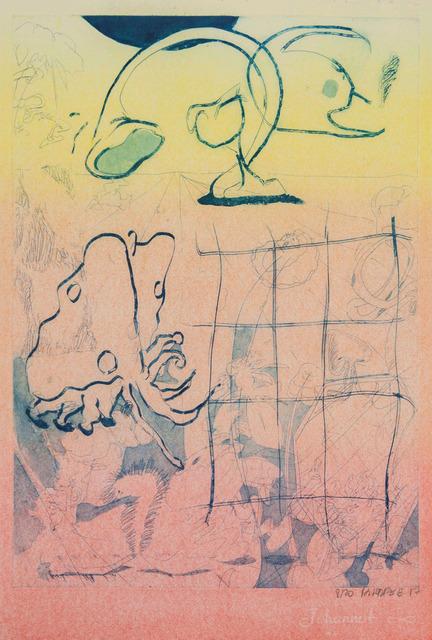 , 'voyage xv4, half tone version,' 2017, Ruttkowski;68