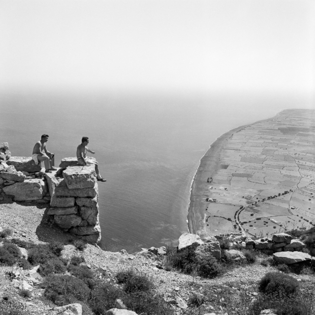 , 'Thera, View to Perissa from the Site of Ancient Thera,' 1961, galerie SIT DOWN