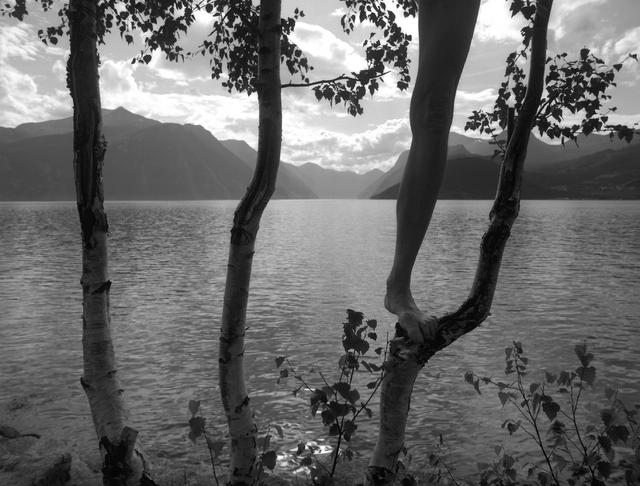 Arno Rafael Minkkinen, 'Stranda, Norway', 2006, Photography, Gelatin silver print, Robert Klein Gallery
