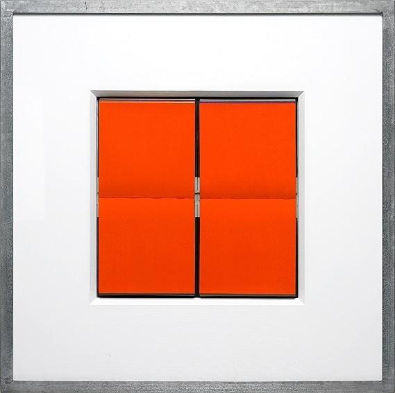 Jürgen Paas, 'JEU DE CARRÉE ORANGE ', 2015, Stern Wywiol Galerie