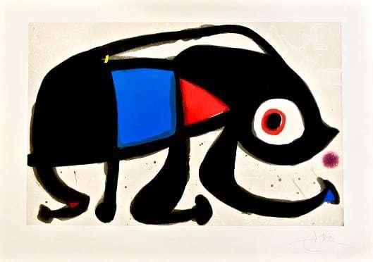 Joan Miró, 'Le Rat des Sables', 1975 , Hazelton Fine Art Galleries