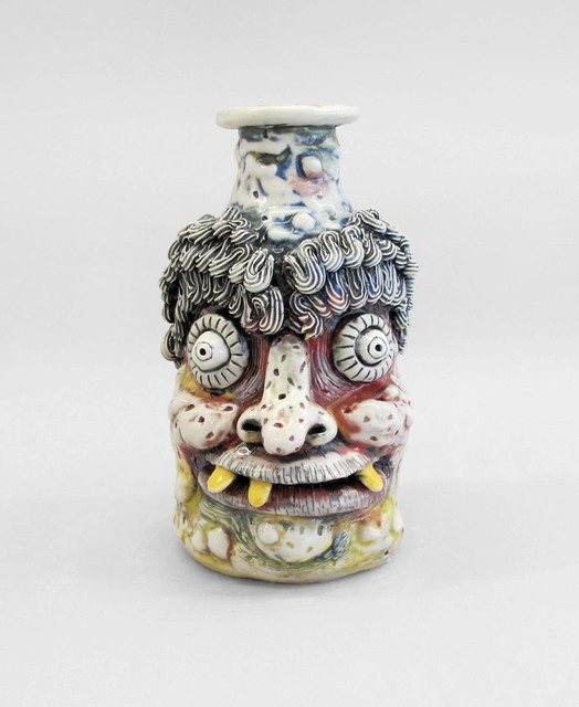 , 'Primary Rub Jug,' 2019, Asya Geisberg Gallery