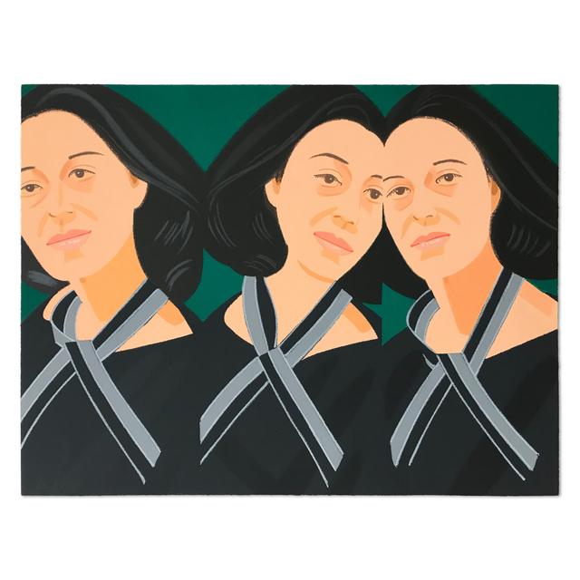 Alex Katz, 'Grey Ribbon (Ada Three Times)', 1990, MLTPL