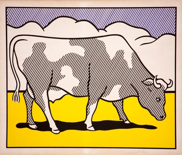 , 'Cow Going Abstract ,' 1982, Gallery On The Move