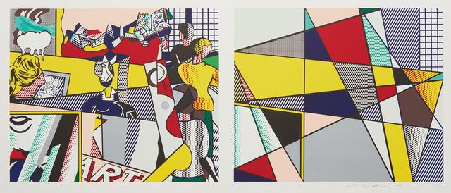 Roy Lichtenstein, 'Tel Aviv Museum Print', 1989, Phillips