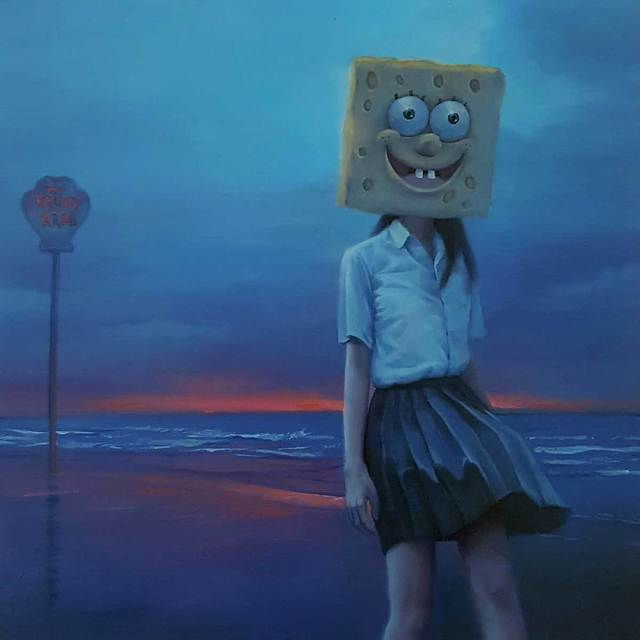 , 'Clock Out (Spongebob Squarepants),' 2018, Modern Eden