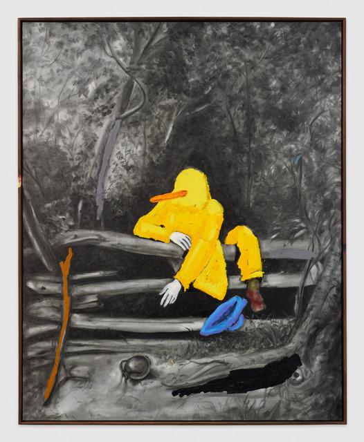 , 'Oh, shit! Oh, shit, shit, shit! Oh, God! Oh, shit!,' 2016, Johannes Vogt Gallery