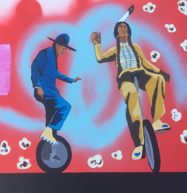 , 'Two Utes on a Unicycle,' 2017, Modern West Fine Art