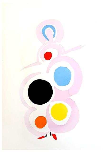 "Sonia Delaunay, 'Original Pochoir ""27 Living Paintings XVIII"" by Sonia Delaunay', 1969, Galerie Philia"