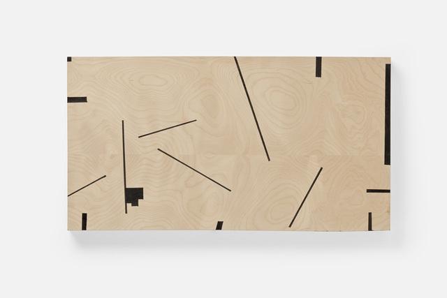 Judy Cooke, 'Corner', 2012, Painting, Oil and wax on wood, Elizabeth Leach Gallery