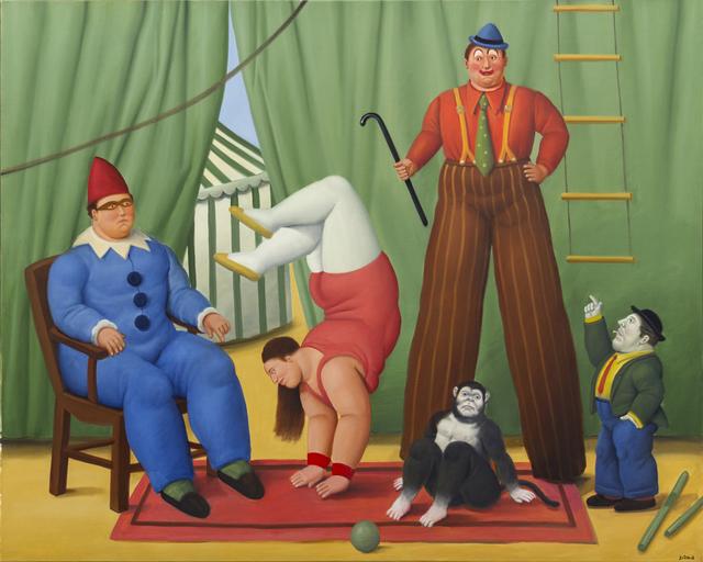 , 'Circo ,' 2008, Galería La Cometa